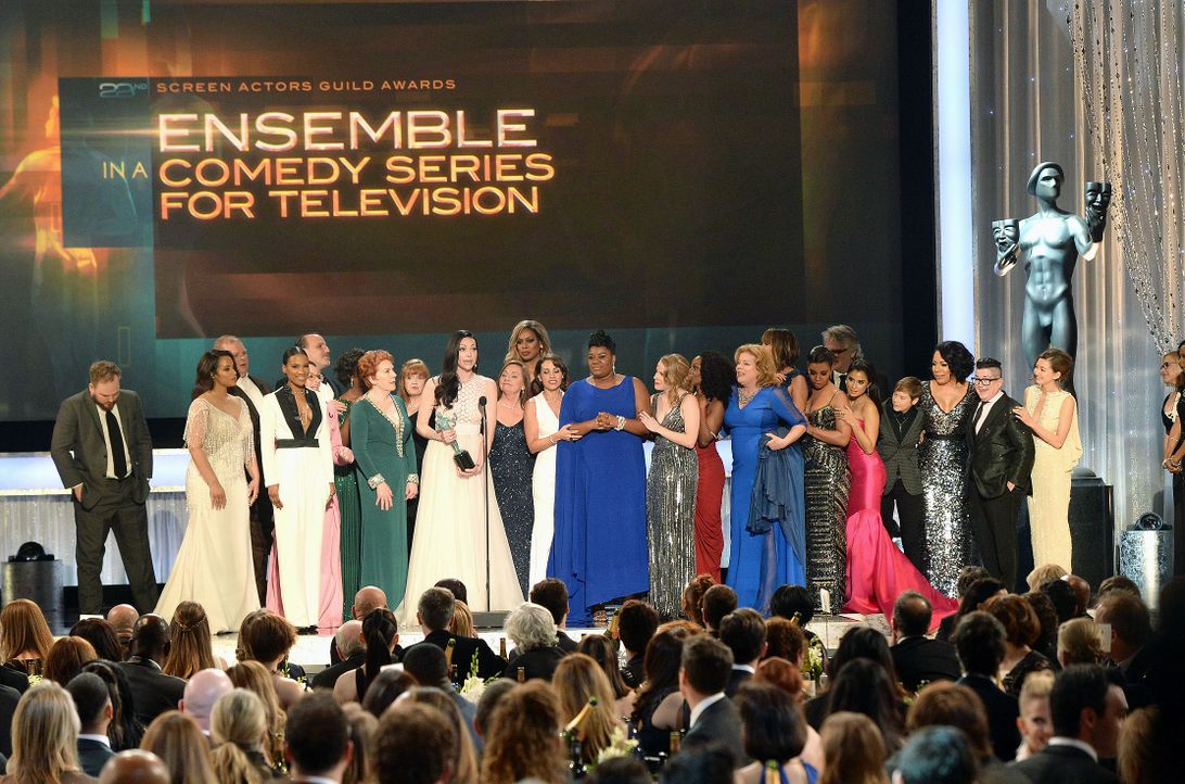 160130-cast-OISNB-getty-AFP - Bildquelle: 2016 Getty Images