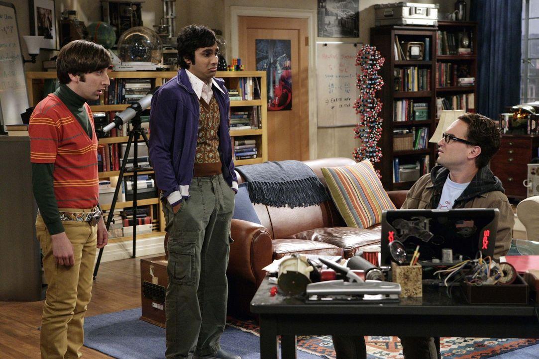 Da Sheldon mit dem Geheimnis, dass ihm Penny anvertraut hat, nicht umgehen kann, kommen seinen nervösen Ticks wieder zum Vorschein. Seine Freunde L... - Bildquelle: Warner Bros. Television