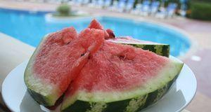 Tolle Erfrischung an heißen Tagen: Wassermelone. Kalorien hat sie zudem kaum.