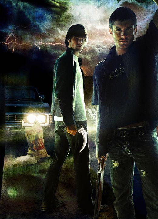 (1. Staffel) - Die Mutter von Sam (Jared Padalecki, l.) und Dean Winchester (Jensen Ackles, r.) ist vor 20 Jahren auf mysteriöse Art und Weise ums L... - Bildquelle: Warner Bros. Television
