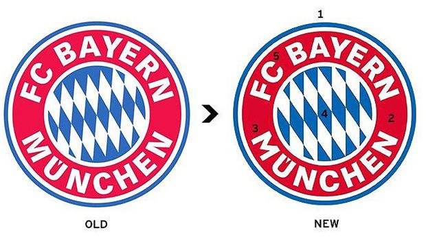 bayern münchen neues logo