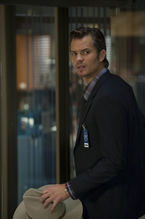 Nachdem zwei Strafgefangenen die Flucht gelungen ist, wird Raylan Givens (Timothy Olyphant) auf die beiden angesetzt ... - Bildquelle: 2010 Sony Pictures Television Inc. and Bluebush Productions, LLC. All Rights Reserved.
