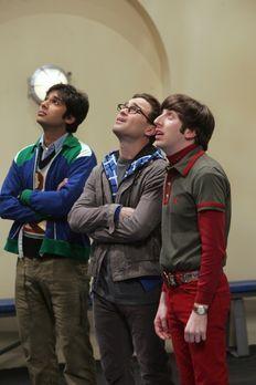 The Big Bang Theory - Sheldon möchte sich mit Barry Kripke, einem Kollegen vo...