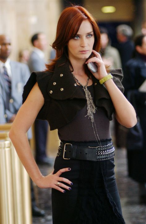 """Würde für ihren Job bei """"Runway"""" sterben: Emily (Emily Blunt). Aber dann passiert etwas völlig unerwartetes und sie muss eine Entscheidung fällen ..... - Bildquelle: 2006 Twentieth Century Fox"""