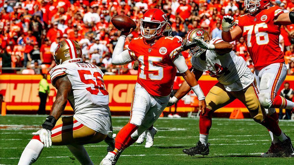0a302ff32 Liefert auch in seinem dritten Saisonspiel ab  Chiefs-Quarterback Patrick  Ma.