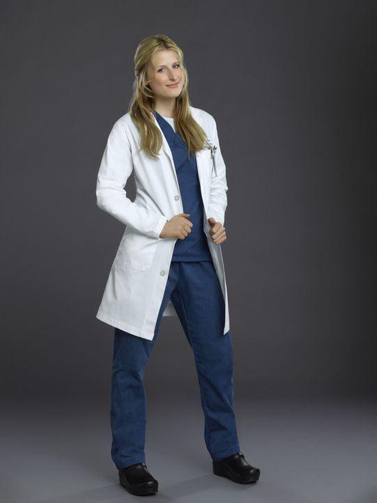 (1. Staffel) - Die junge Assistenzärztin Emily Owens (Mamie Gummer) freut sich darauf, endlich ihre High School Zeit hinter sich lassen zu können -... - Bildquelle: 2012 The CW Network, LLC. All rights reserved.