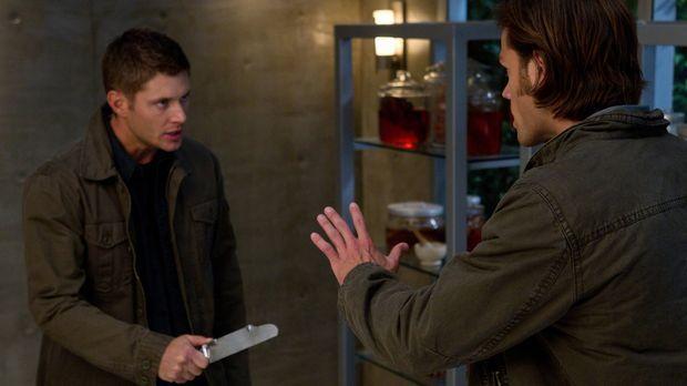 Nicht nur Veritas, sondern vor allem Dean (Jensen Ackles, l.) ist entsetzt, a...