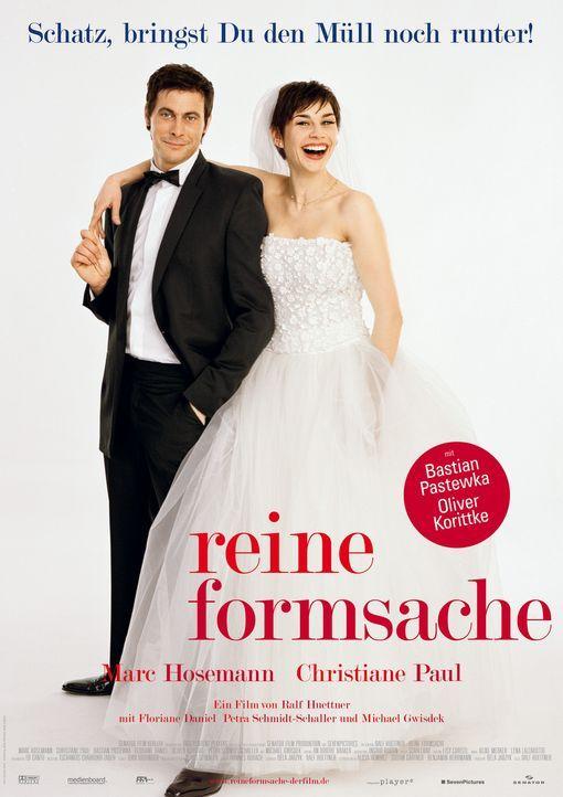 Die Ehe von Pola (Christiane Paul, r.) und Felix (Marc Hosemann, l.) ist gescheitert - über ein Jahr lang sind sie sich aus dem Weg gegangen. Am Tag... - Bildquelle: Senator Entertainment AG