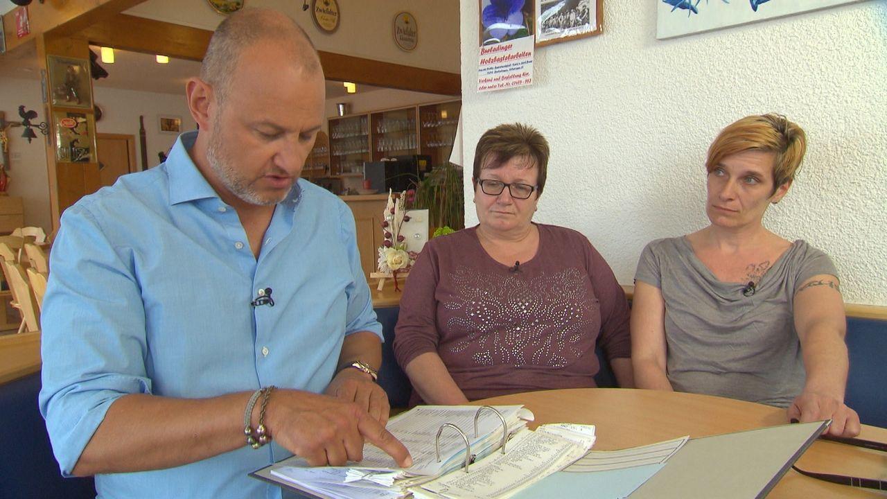 Frank Rosin (l.) muss ganz von vorne anfangen, um nicht nur das Restaurant von Diana Dehner (r.), sondern die ganze Familie retten zu können. Wird i... - Bildquelle: kabel eins