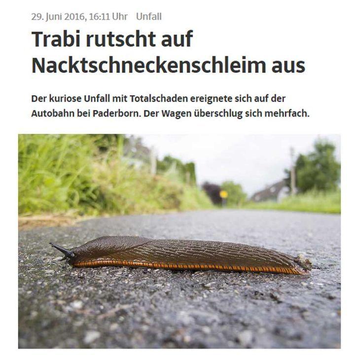 Trabi-Schnecke