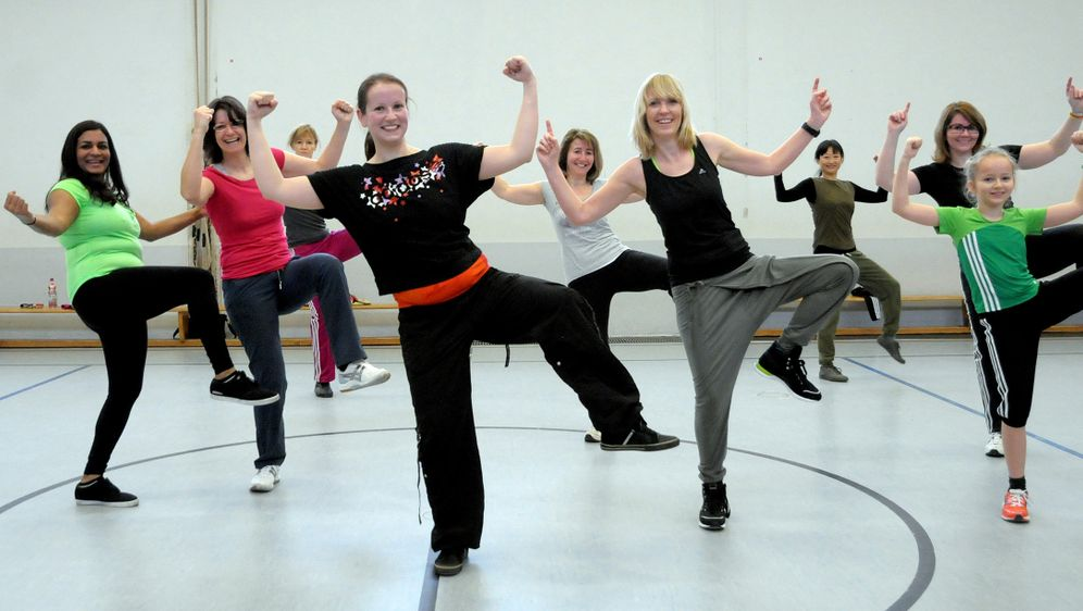 Frauen-Fitness: Work-out ohne Ablenkung