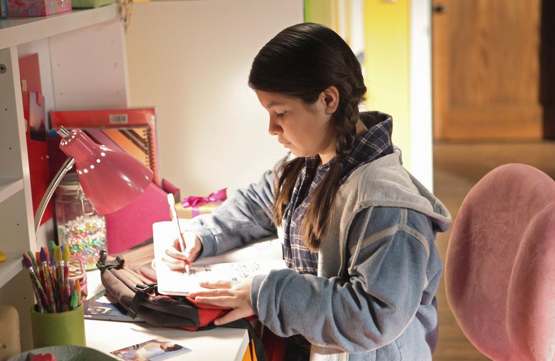 Wird es Olivia (Isabella Rae Thomas) gelingen, sich in den Alltag ihrer neuen Familie einzufügen? - Bildquelle: 2010 American Broadcasting Companies, Inc. All rights reserved.