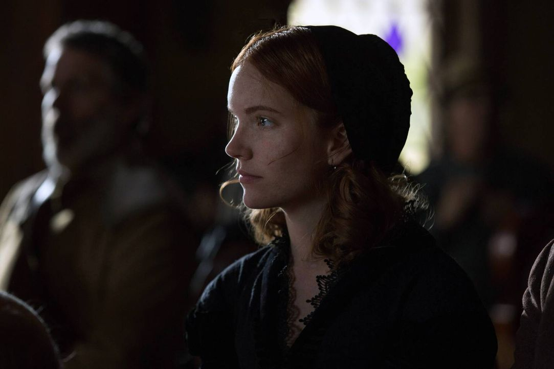 Anne (Tamzin Merchant) ist geschockt, als ihre Freundin und Mentorin Bridget der Hexerei beschuldigt wird ... - Bildquelle: 2013-2014 Fox and its related entities.  All rights reserved.