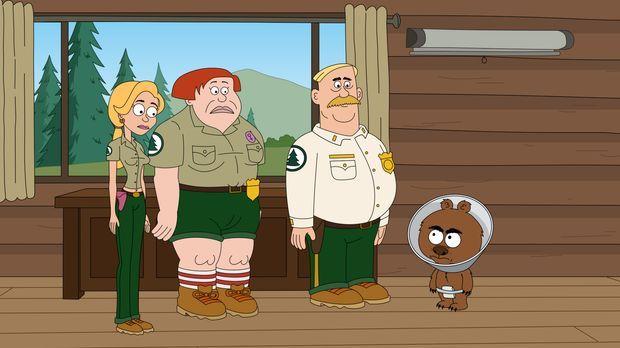 Ethel (l.), Connie (2. v. l.) und Woody (2. v. r.) müssen sich eingestehen, d...