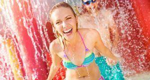 Platschnass aus dem Wasser kommen und der Bikini ist sofort wieder trocken? D...