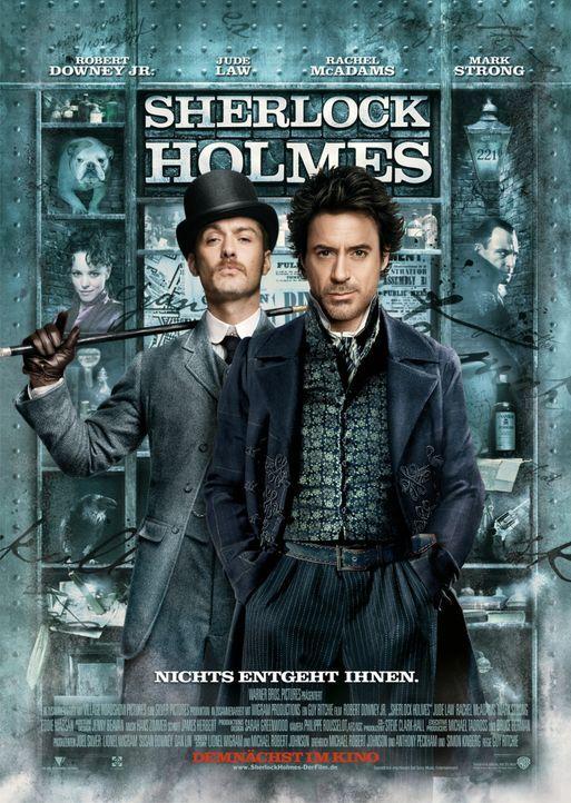 """""""SHERLOCK HOLMES"""" - Plakatmotiv - Bildquelle: Warner Brothers"""