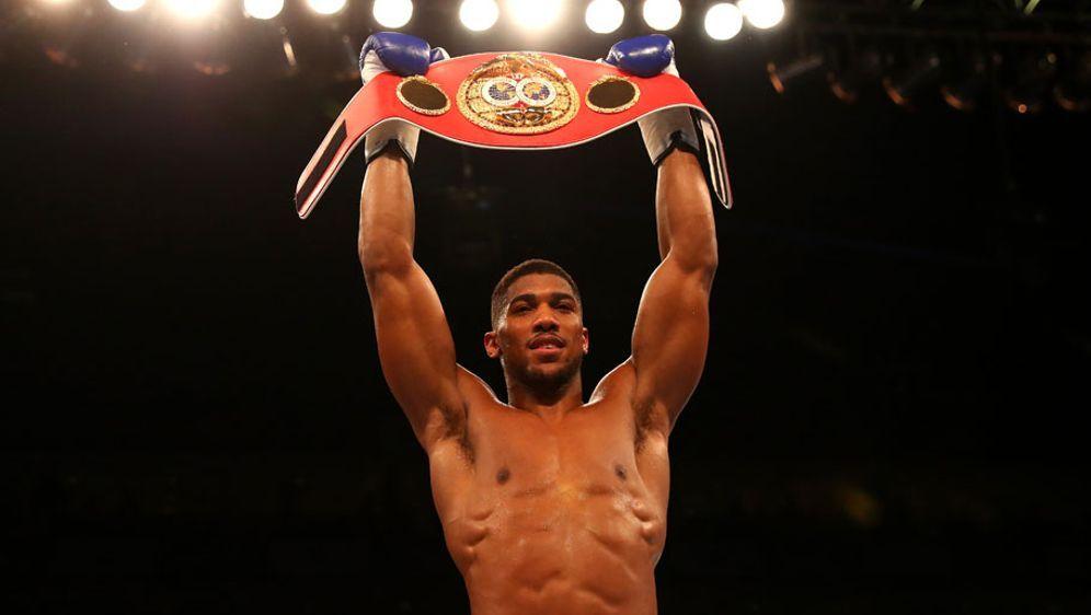 IBF-Weltmeister im Schwergewicht: Anthony Joshua. - Bildquelle: 2016 Getty Images