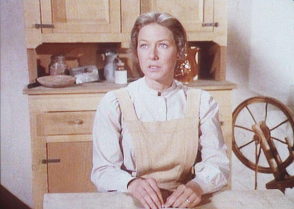 Caroline (Karen Grassle) befürchtet, dass ihr Mann sie mit einer anderen Frau betrügt. - Bildquelle: Worldvision