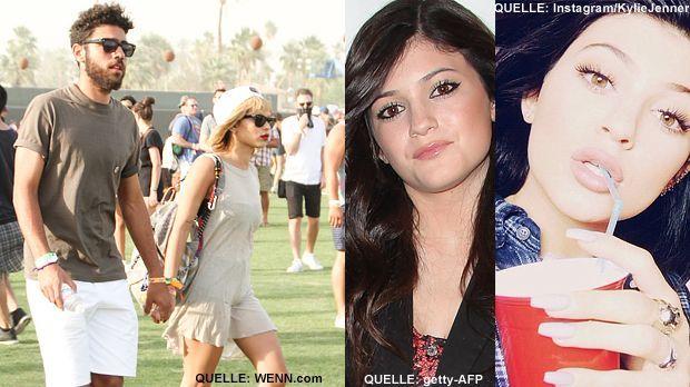 TOP Noah Becker und Zoey Kravitz FLOP Kylie Jenner - Bildquelle: WENN.com    /   getty-AFP   /    Instagram/KylieJenner