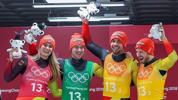 So sehen Teamolympia-Sieger aus