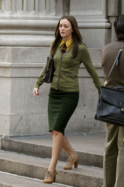 Yale ist ihr Traum - doch soll der durch die Streiterei mit Serena zerplatzen?: Blair (Leighton Meester) ... - Bildquelle: Warner Brothers