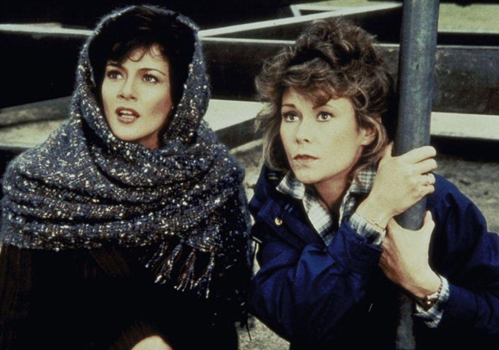 Superagentin, Hausfrau und Mutter Amanda King (Kate Jackson, r.) im Einsatz. - Bildquelle: CBS Television