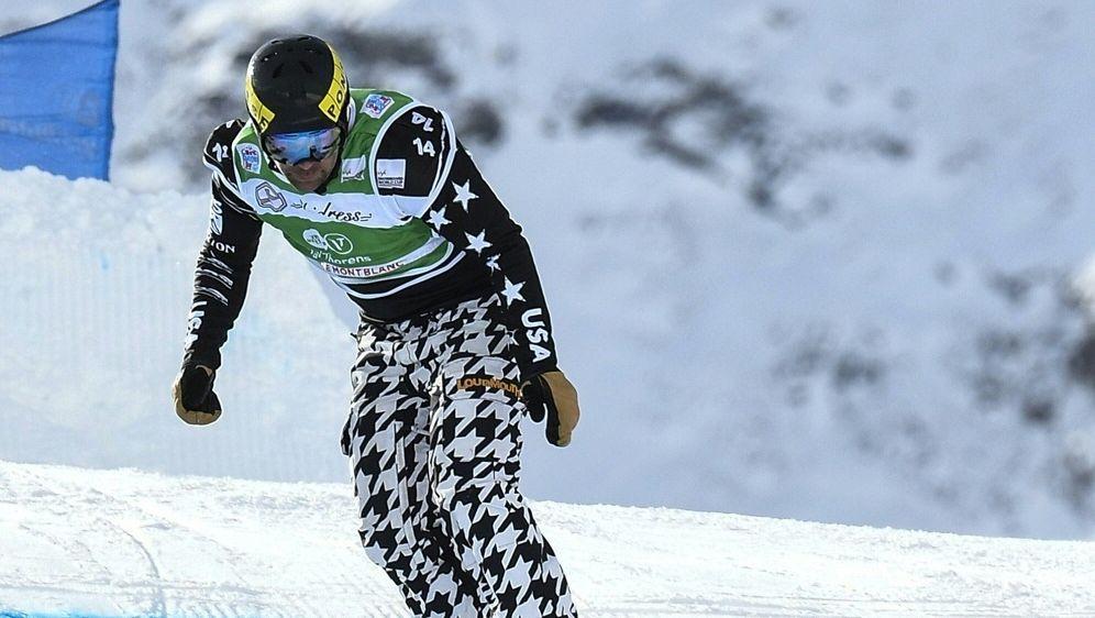 Titelverteidigung für Snowboarder Pierre Vaultier - Bildquelle: AFPSIDPHILIPPE DESMAZES