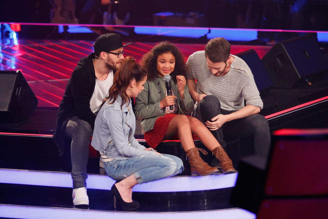 The-Voice-Kids-s03e01-danach-Zoe-07 - Bildquelle: SAT.1/ Richard Hübner