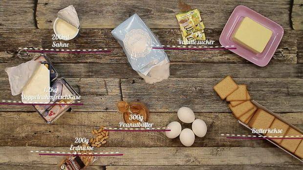 Für den ultimativen Erdnussbutter-Käsekuchen aus New York braucht ihr diese Z...
