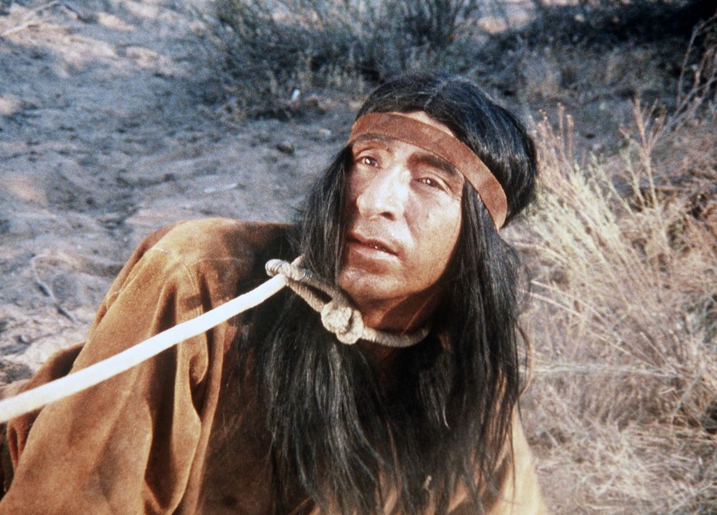 Zwischen Indianern (Joaquin Martinez) und Ranchern eskaliert der Konflikt um Farmland. - Bildquelle: Paramount Pictures