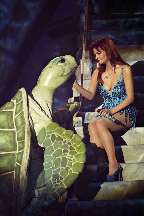 Über zwei Stunden lang sorgt die erfolgreichste Sängerin Deutschlands, Andrea Berg,  für mitreißende Stimmung und Gänsehautmomente. - Bildquelle: Thomas Bittera Sat.1 Gold