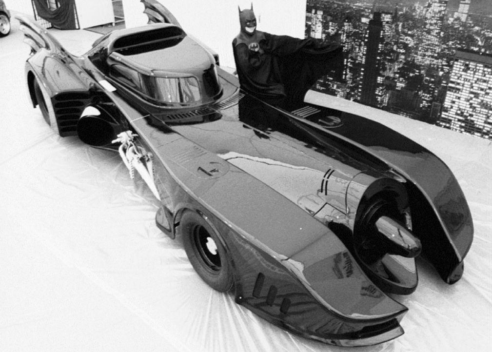 Batmobil-Batman-1-dpa - Bildquelle: dpa