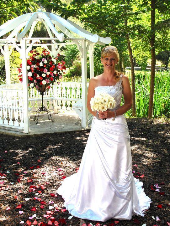Auch Stacey möchte die perfekte Hochzeit feiern und die traumhafte Hochzeitsreise gewinnen ... - Bildquelle: Richard Vagg DCL