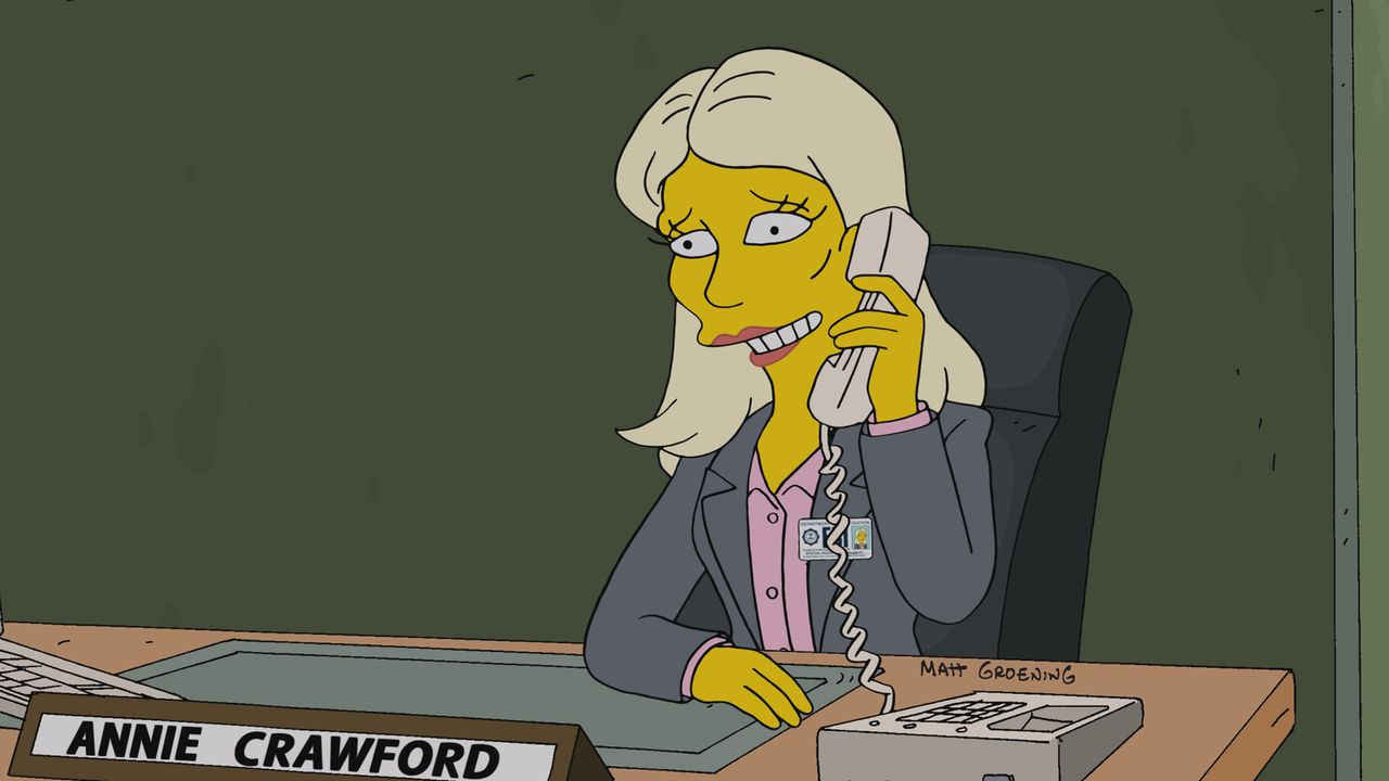 Glaubt, dass Homer von Islamisten einer Gehirnwäsche unterzogen wurde: Annie Crawford vom FBI ... - Bildquelle: 2014 Twentieth Century Fox Film Corporation. All rights reserved.