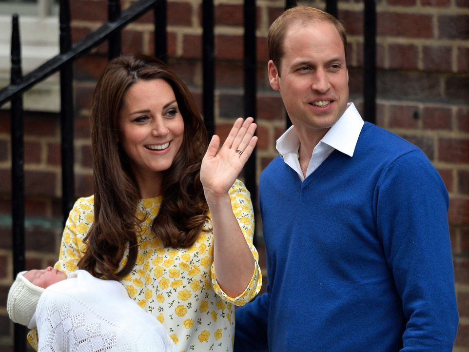 Royal-Baby-2-Prinzessin-10-dpa - Bildquelle: dpa
