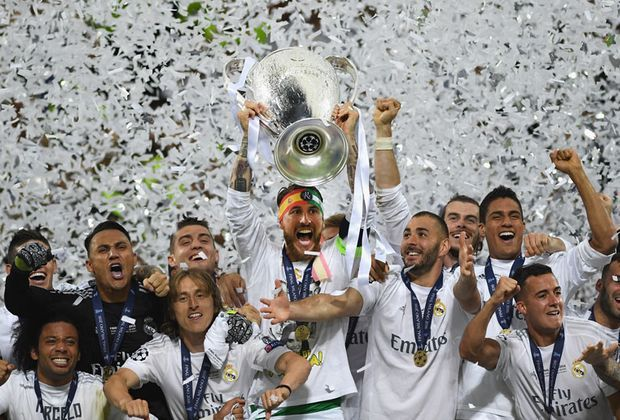 Champions-League-Sieger Real Madrid