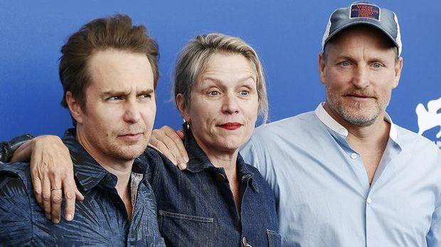 Woody Harrelson, Frances Mcdormand, Sam Rockwell