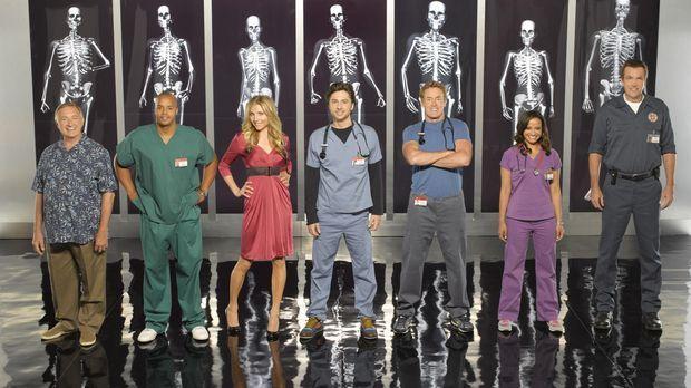 (8. Staffel) - Die Belegschaft des Sacred Heart Hospitals muss täglich mit ne...