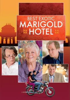 The Best Exotic Marigold Hotel - THE BEST EXOTIC MARIGOLD HOTEL - Plakatmotiv...