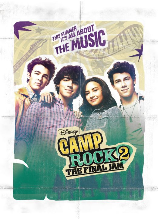 CAMP ROCK: THE FINAL JAM - Plakatmotiv - Bildquelle: Disney