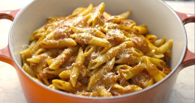 Wie fast jedes Kind, war Giada früher auch ein absoluter Fan von Pasta Pomodo...