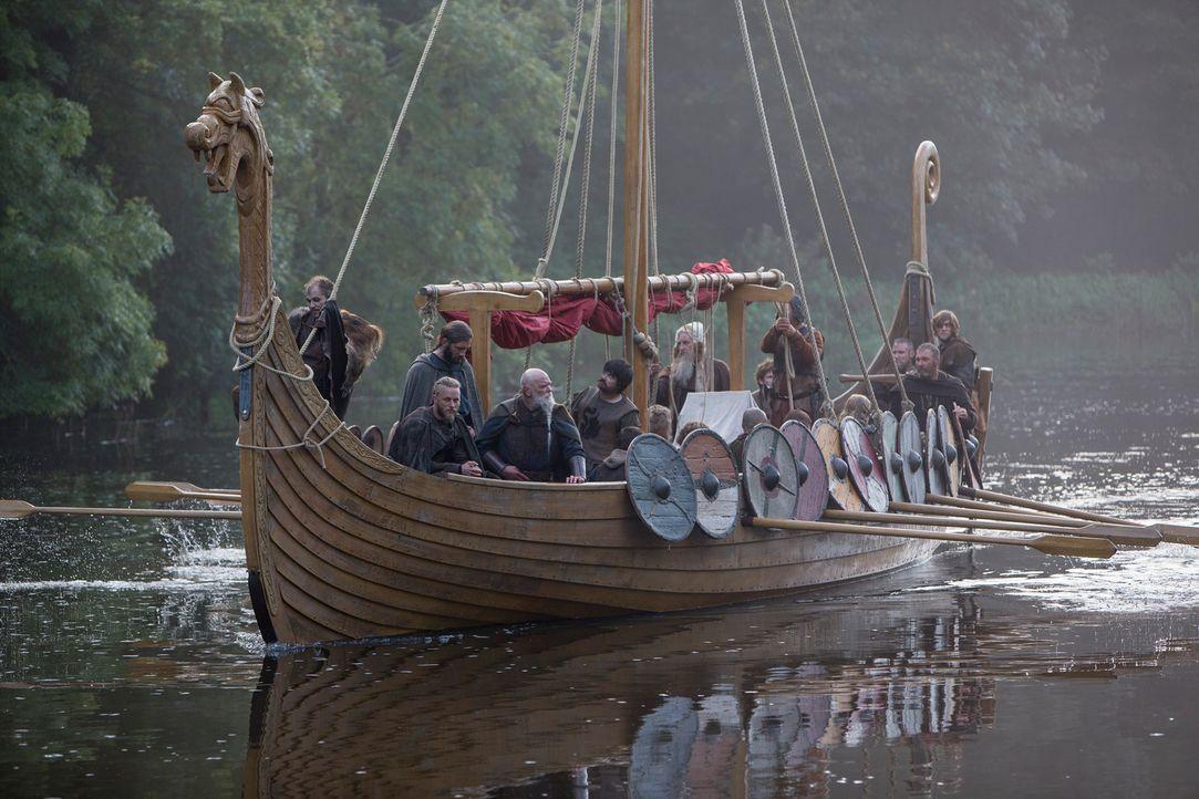 Erneut machen sich die Nordmänner unter der Führung von Ragnar daran, den Angelsachsen das Leben schwer zu machen ... - Bildquelle: 2013 TM TELEVISION PRODUCTIONS LIMITED/T5 VIKINGS PRODUCTIONS INC. ALL RIGHTS RESERVED.