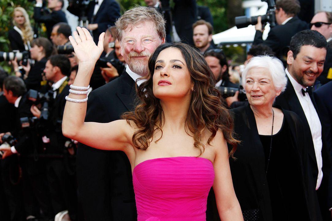 Cannes-Filmfestival-Salma-Hayek-Pinault-140517-AFP - Bildquelle: AFP