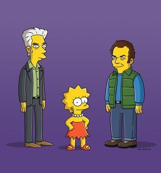 Die Simpsons - Durch einen Dokumentarfilm, den Lisa (M.) über ihre Familie ge...