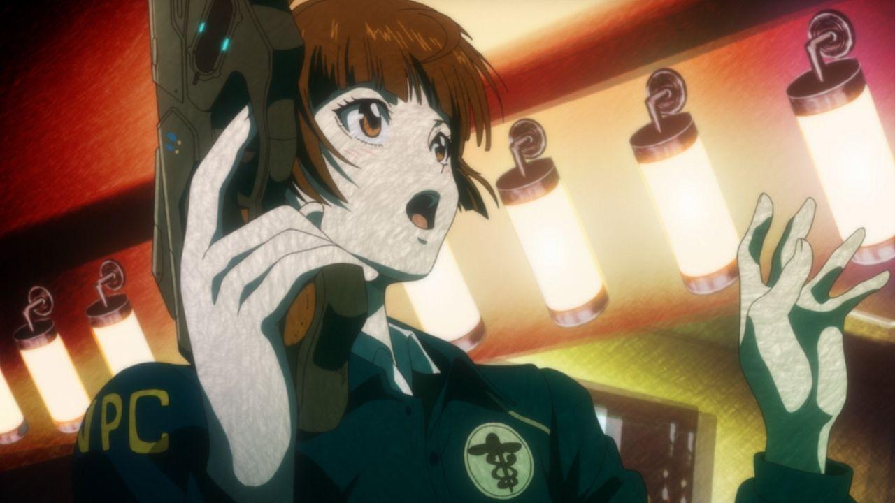 (1. Staffel) - Gleich am ersten Arbeitstag beim Amt für öffentliche Sicherheit gerät die frische Polizeiakademie-Absolventin Akane Tsunemori in ein... - Bildquelle: PSYCHO-PASS Committee