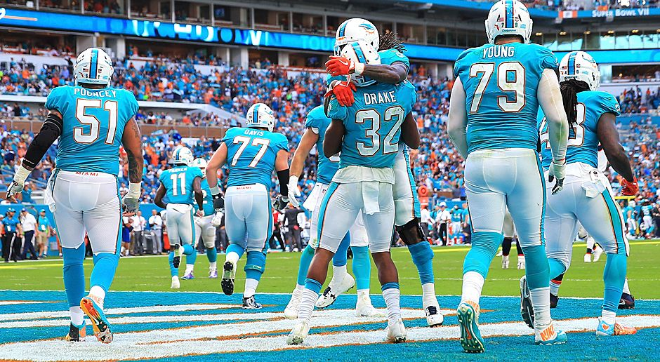 Platz 18 (geteilt): Miami Dolphins (AFC East) - Bildquelle: 2017 Getty Images