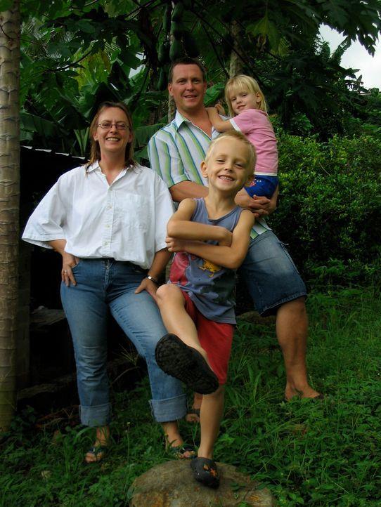 Thomas und Katja Keller haben mit ihren Kindern Morten und Lisa vor einem Jahr den Schritt nach Panama gewagt. Trotz Startschwierigkeiten schafften... - Bildquelle: kabel eins