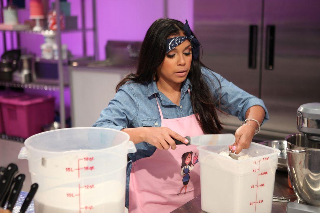 Dass das Krümmelmonster und die Produzentin der Sesamstraße Carol-Lynn Parente in der Jury sind, setzt Melissa Rodriguez (Foto) unter Druck. Sie möc... - Bildquelle: 2016,Television Food Network, G.P. All Rights Reserved