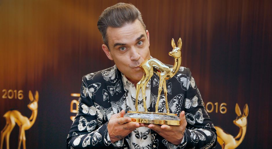 Robbie Williams - Bildquelle: Thorsten Zimmermann for Hubert Burda Media