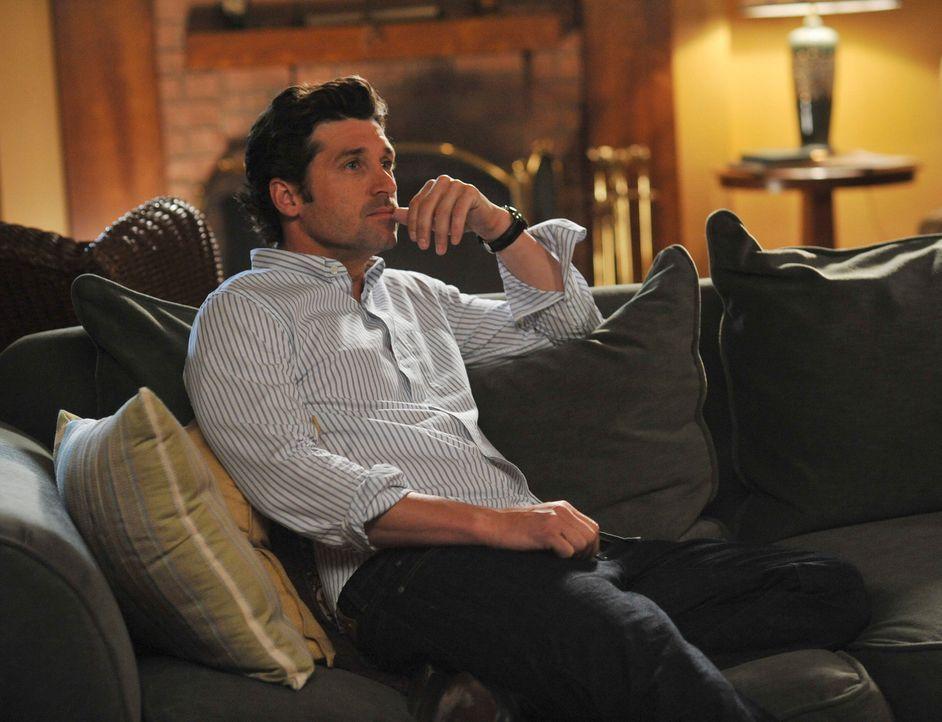 Will mit Meredith alleine wohnen und versucht, Cristina zu manipulieren, damit sie Meredith überredet, Alex und Izzie rauszuwerfen: Derek (Patrick... - Bildquelle: Touchstone Television